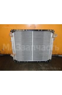 Радиатор двигателя ЯМЗ-236БЕ НЕ2 алюм. 4-х рядный